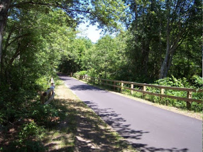 Cape Cod Rail Trail in Brewster