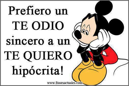 Imagenes Y Frases Facebook Prefiero Un Te Odio