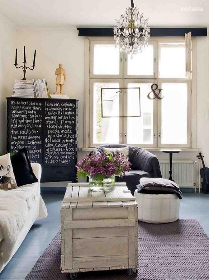 renovar viejos muebles- Pintura Pizarra