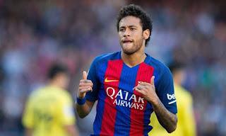 حقيقة رحيل نيمار عن برشلونة , وشائعات انتقالة الي باريس سان جيرمان الفرنسي