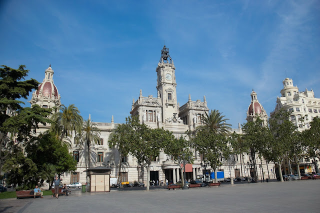 Ratusz miejski w Walencji, wygląd budynku