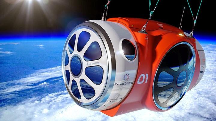 Стратостат для полетов в космос | World View Enterprises