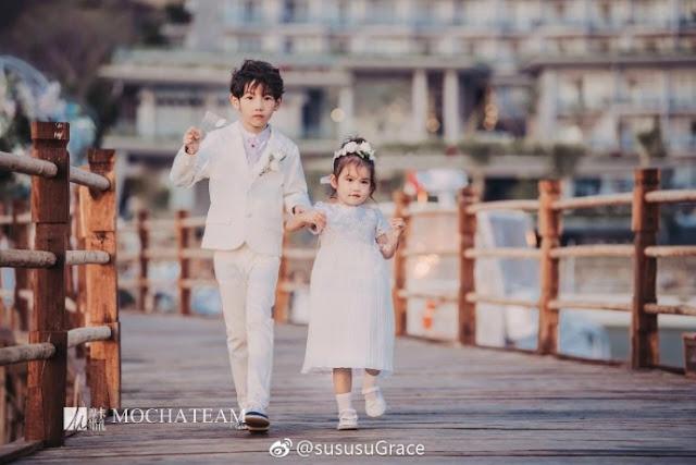 Yang Shuo 2 kids
