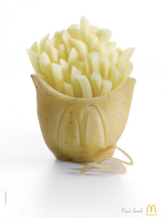 """McDonalds """"Whole Potato"""""""