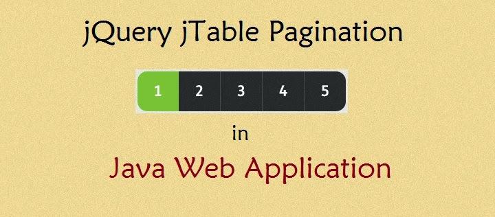 jTable Pagination in Java Web Applications | ProgrammingFree