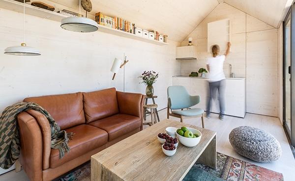 Desain Rumah Portabel Minimalis