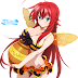 Tags: Render, Bikini, Cleavage, Erect nipples, High School DxD, Large Breasts, Long hair, Red hair, Rias Gremory, Skirt