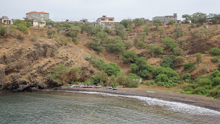 The bay in the east coast Pedra Badejo