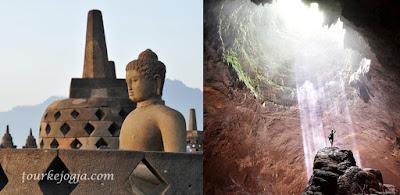 paket wisata Borobudur Goa Jomblang