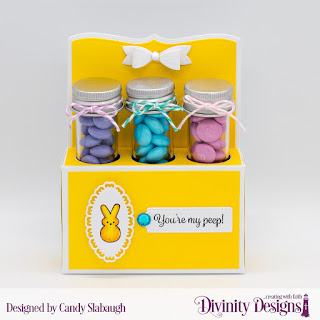 Stamp Set: Test Tube Treats, Treat Tag Sentiments 3  Custom Dies: Test Tube Trio, Layered Lacy Ovals  Paper Collection: Spring Flowers 2019  Small Test Tubes