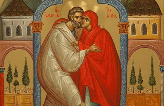 Saints Joachim and Anna as an Example of Chastity in Family Life by St. John of Damascus