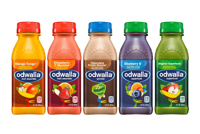 Odwalla Redesigned On Packaging Of The World Creative
