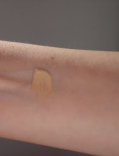 swatch of Mally BB Cream Foundation.jpeg
