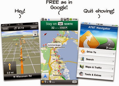 Android Blog News: Alternative Google Maps on Android