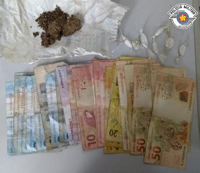 POLÍCIA MILITAR PRENDE QUADRILHA POR TRÁFICO DE DROGAS EM CAJATI