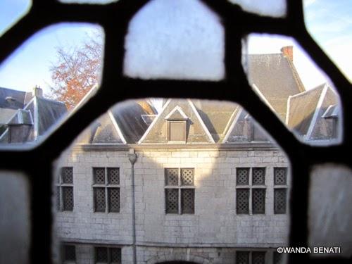 Edificio tipico di Mons, Vallonia