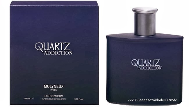 Inspirada nas noites glamourosas de Paris MOLYNEUX lança Quartz Addiction