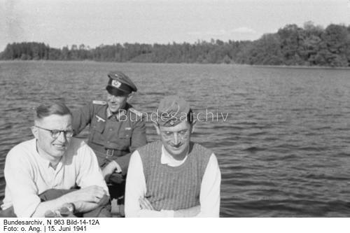 German soldiers on vacation 15 June 1941 worldwartwo.filminspector.com