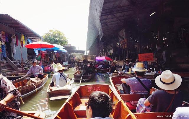thailand bangkok Damnoen saduak Floating Market