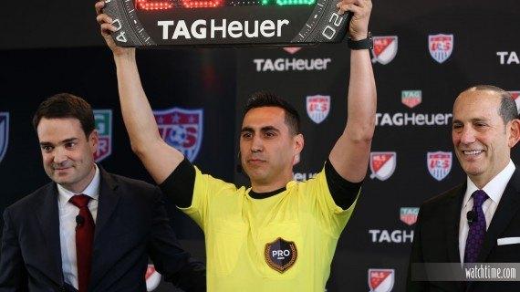 TAG Heuer dará la hora en la MLS