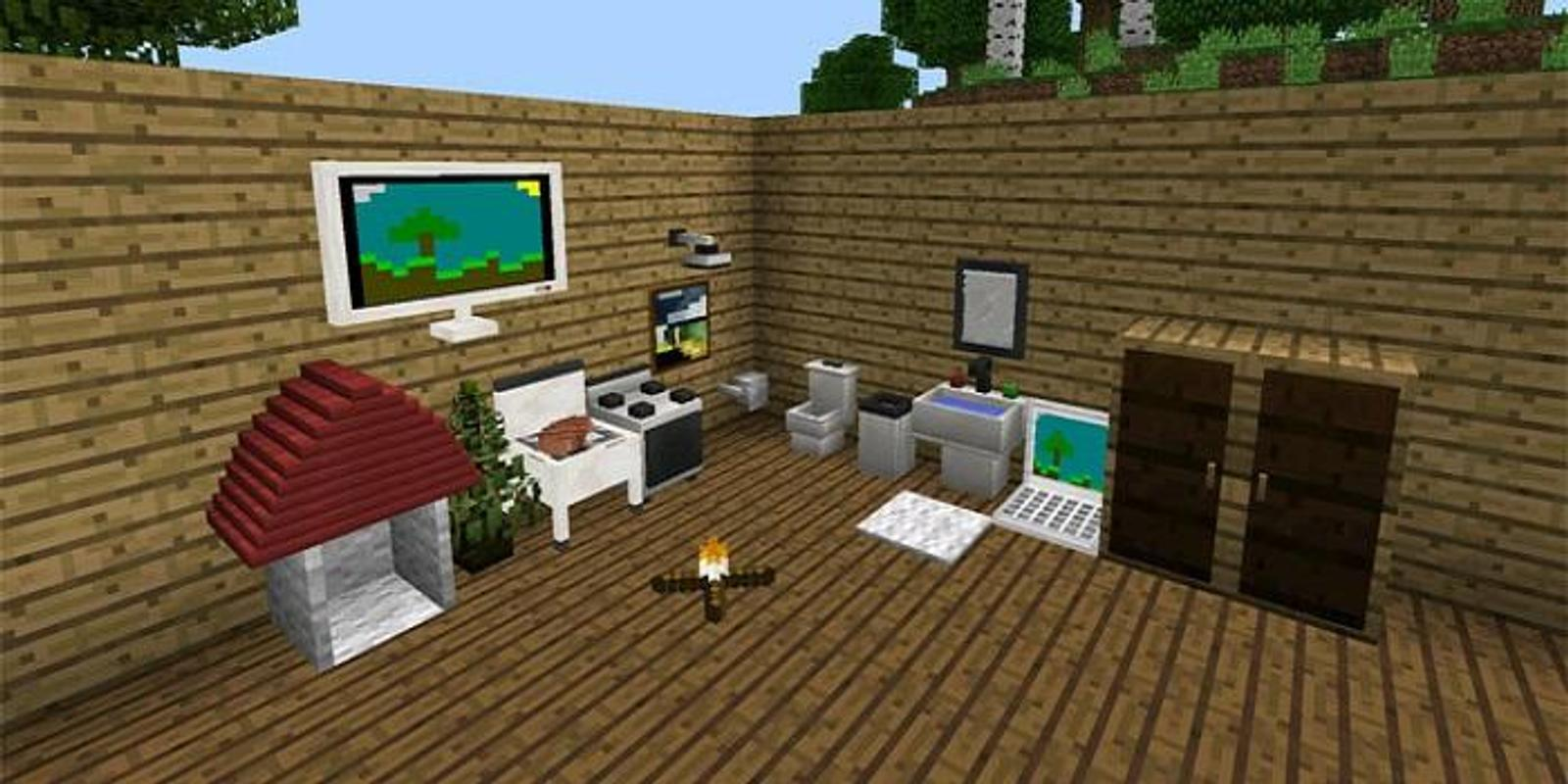 download minecraft pe pc mod
