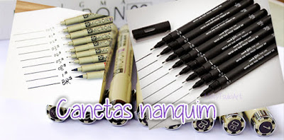 caneta nanquim Guia Para Iniciantes - Material de Desenho