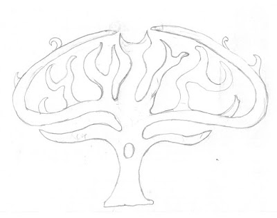Tree Outline sketch