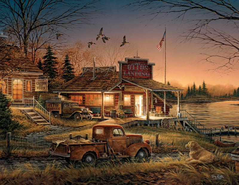 Sioux Falls Wallpaper Terry Avon Redlin Landscape Wildlife Painter Tutt Art