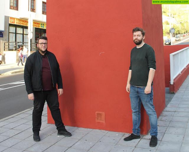 El artista polaco Łukasz Kubiak se suma al proyecto Capital del Color con una intervención en la Avenida de El Puente