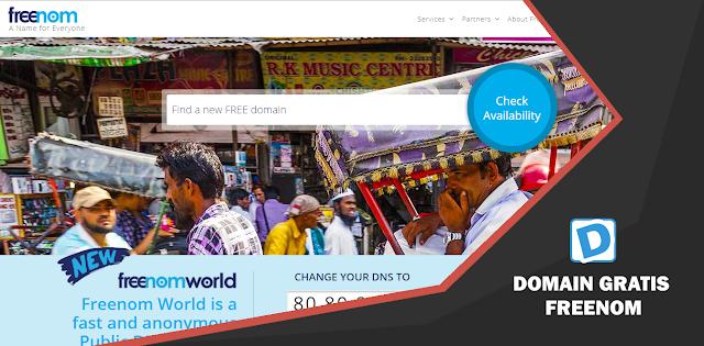 Cara Mendapatkan Domain Gratis Dari Freenom Dunia Programming