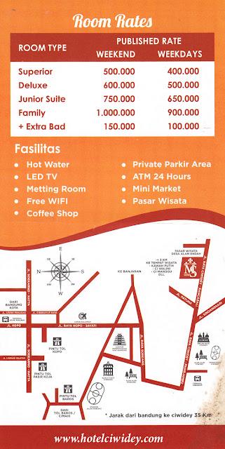 Hotel di Kawah putih Bandung