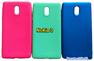 Carcasa gel Color Nokia 3