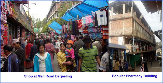 Mall Road shop to shift at Popular pharmacy building Darjeeling