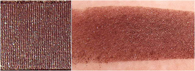 TOO FACED eyeshadow swatche : Black Forest Truffle
