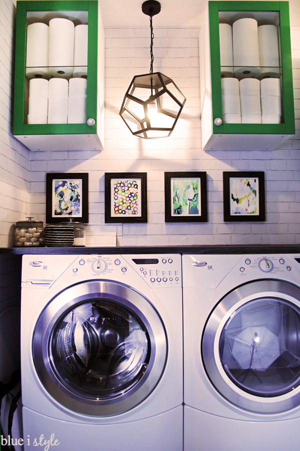 LAUNDRY CLOSET DECOR ORGANIZATION
