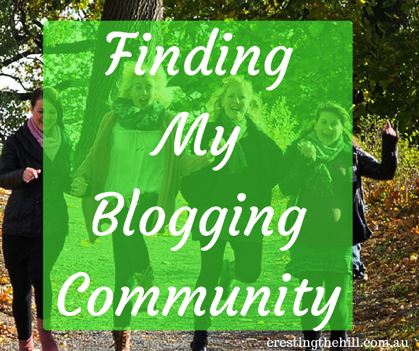 Finding My Blogging Community and sharing the journey together
