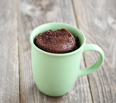 Mug Cake Chocolat Dietetique