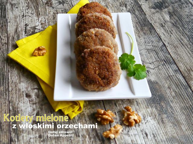 Kotlety mielone z włoskimi orzechami - Czytaj więcej »