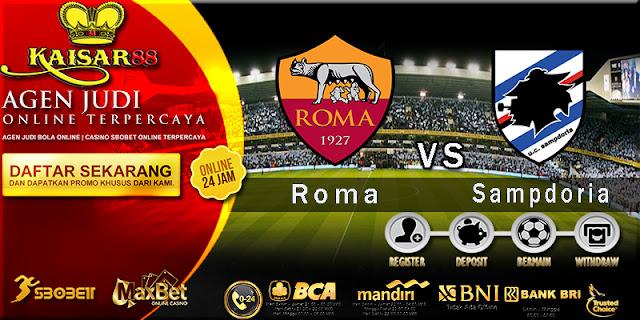Prediksi Bola Jitu Roma vs Sampdoria 29 Januari 2018