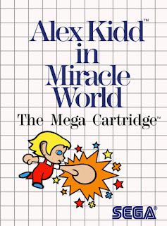Cartucho original Alex Kidd in Miracle World