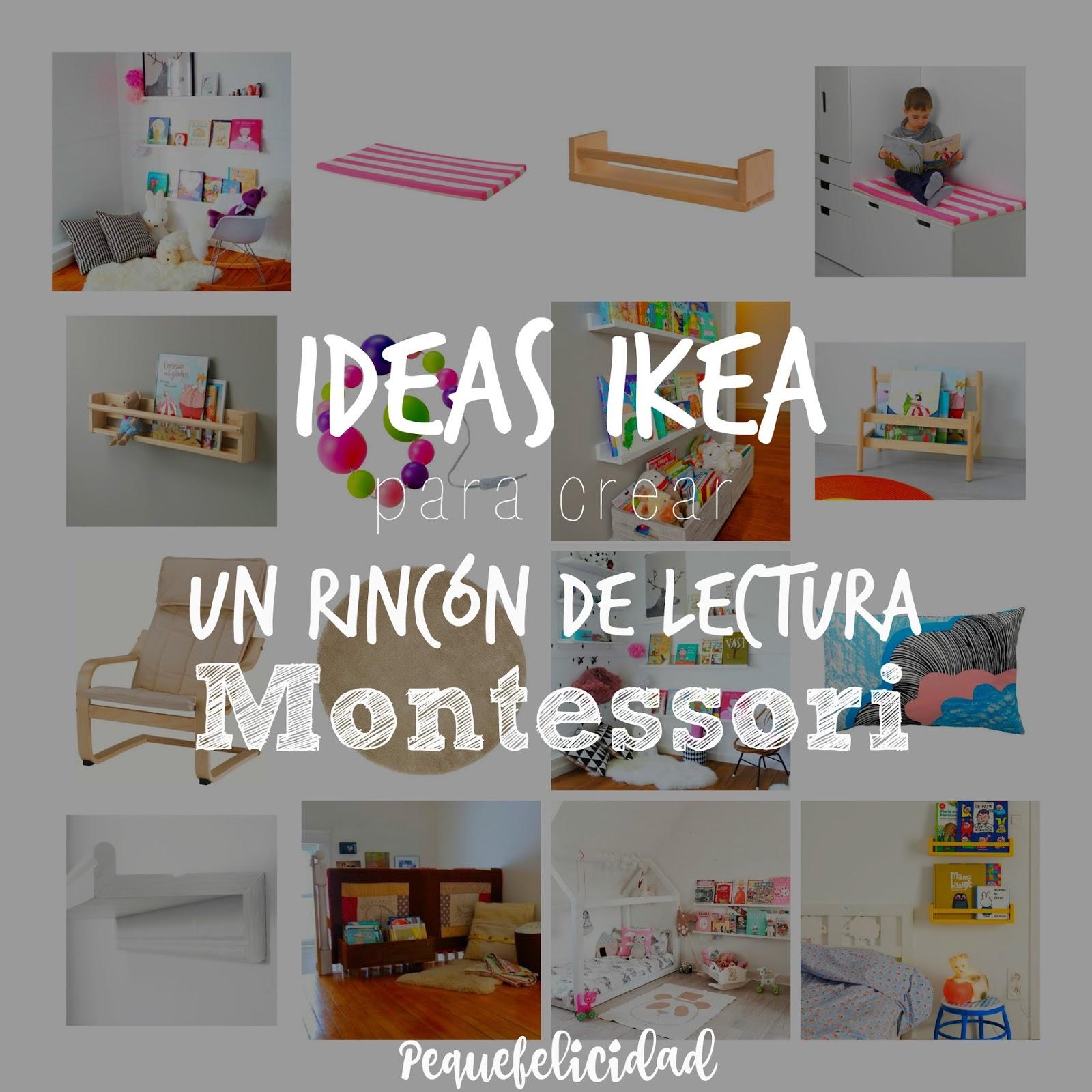 Lectura Un Montessori Para De PequefelicidadIdeas Ikea Crear Rincón nwO8XPk0