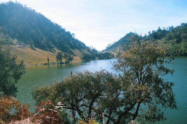 Indahnya danau Ranu Kumbolo