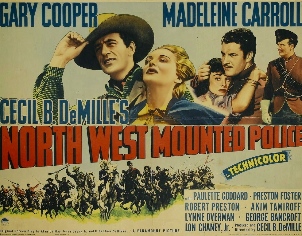 War Movie Wednesday - North West Mounted Police