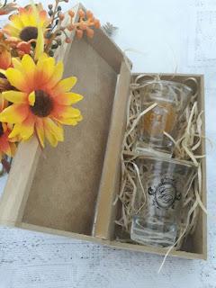 caixa para lembrancinhas mdf cru  para copos de dose