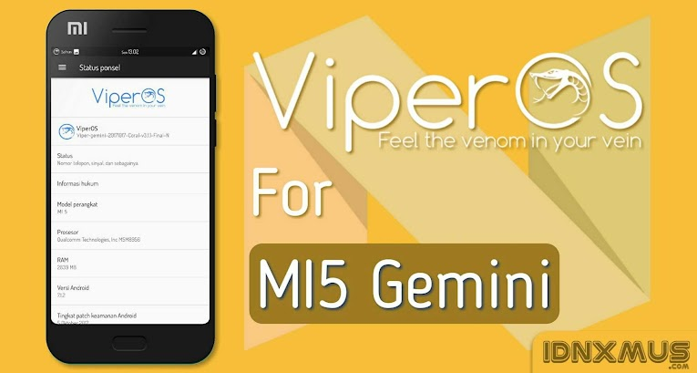 Image result for viper os rom mi5