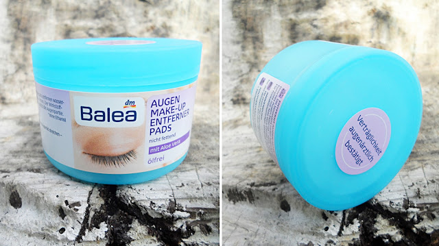Balea Eye Makeup Remover Pads Oil-free Review liz breygel beauty blogger buy online