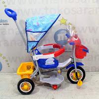 family f5983t police sepeda roda tiga