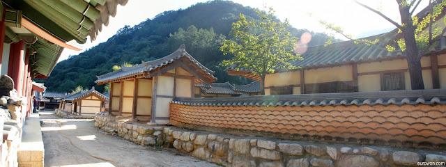 Poblado coreano para rodas dramas históricos