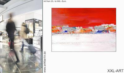 Berlin-Galerie präsentiert großformatige Kunst!