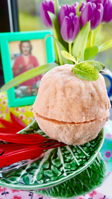 Fanny Cradock Tomato Ice Cream